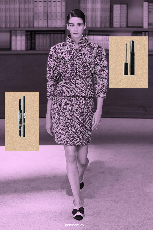 phong cách trang điểm Chanel Fall Winter haute couture 2019