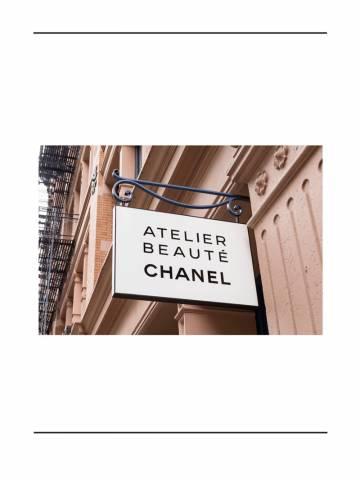 Atelier Beauté Chanel -  Bên trong thế giới kì diệu của nhan sắc