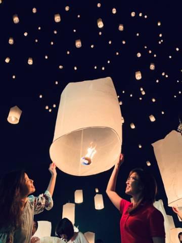 Đến Chiang Mai mùa đèn thắp sao trời