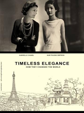Nam Phương hoàng hậu & Gabrielle Chanel - Mang thanh lịch khuynh đảo lịch sử