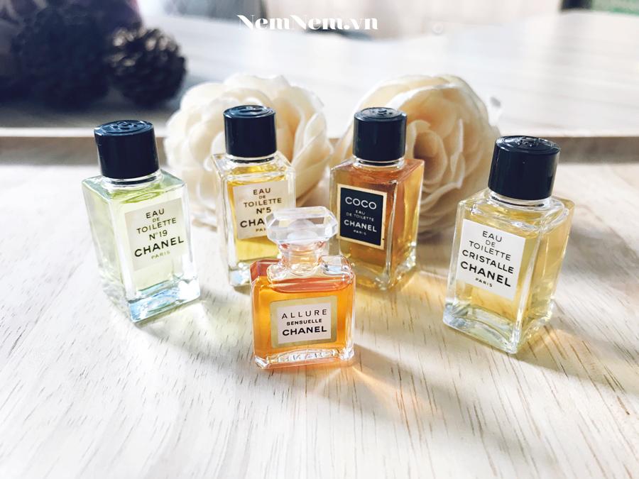 nước hoa Chanel mini chính hãng