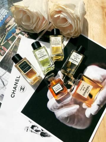 Sưu tập nước hoa Chanel mini N°5, N°19, Coco, Cristalle, Allure Sensuelle