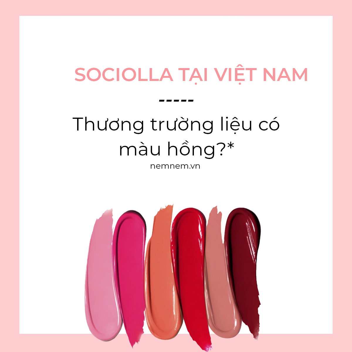 Sociolla Việt nam